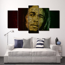 Framed Printed bob marley Group Painting room decor print poster picture canvas decoration Free shipping/ny-195 printed abstract graphics psychedelic nebula space painting canvas print decor print poster picture canvas free shipping ny 5746