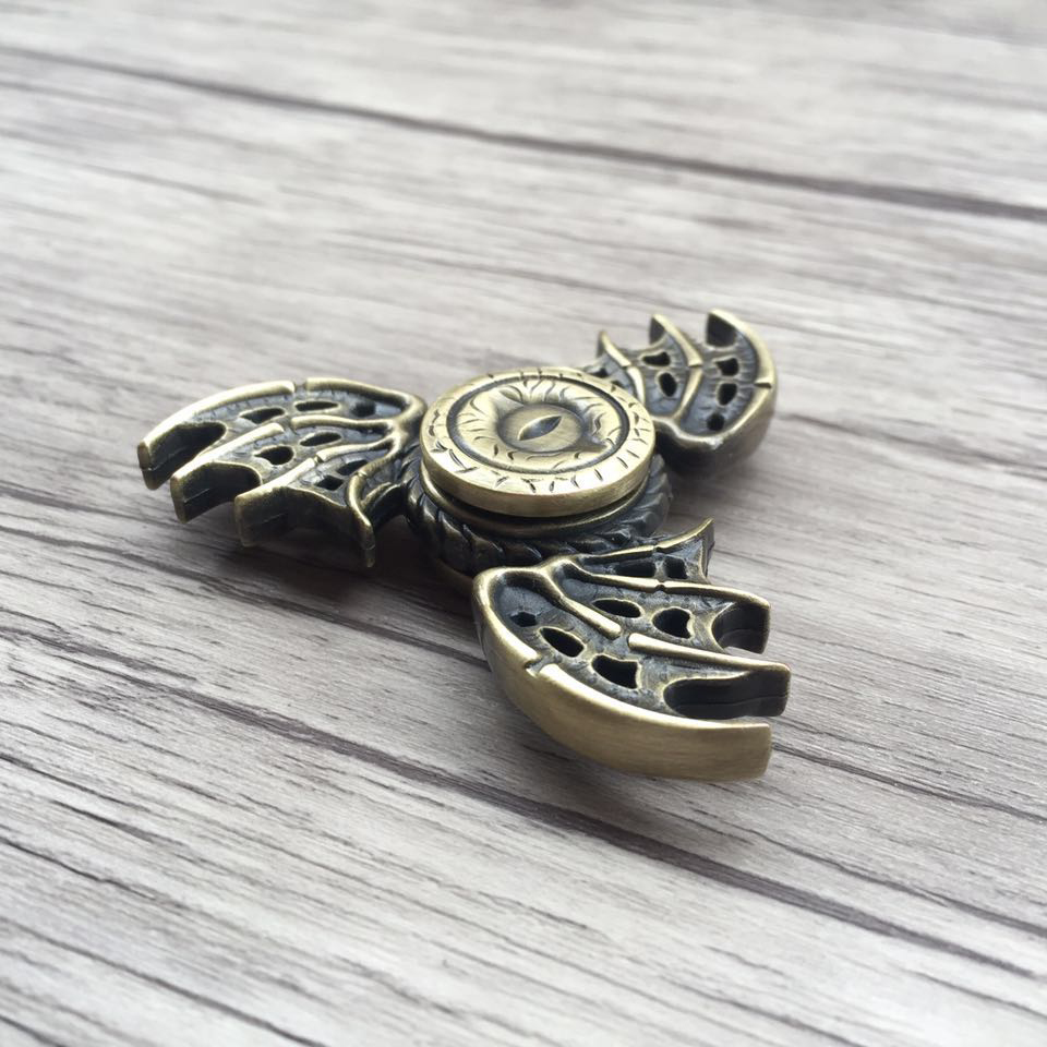 Freeshipping Dragon Eyes Fidget Toy Game Of Thrones Hand Spinner Metal Finger Stress Spinner