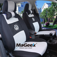 Universal Car Seat Covers for Volkswagen vw passat Beetle Magotan polo golf tiguan jetta car seat cover Car Styling accessories