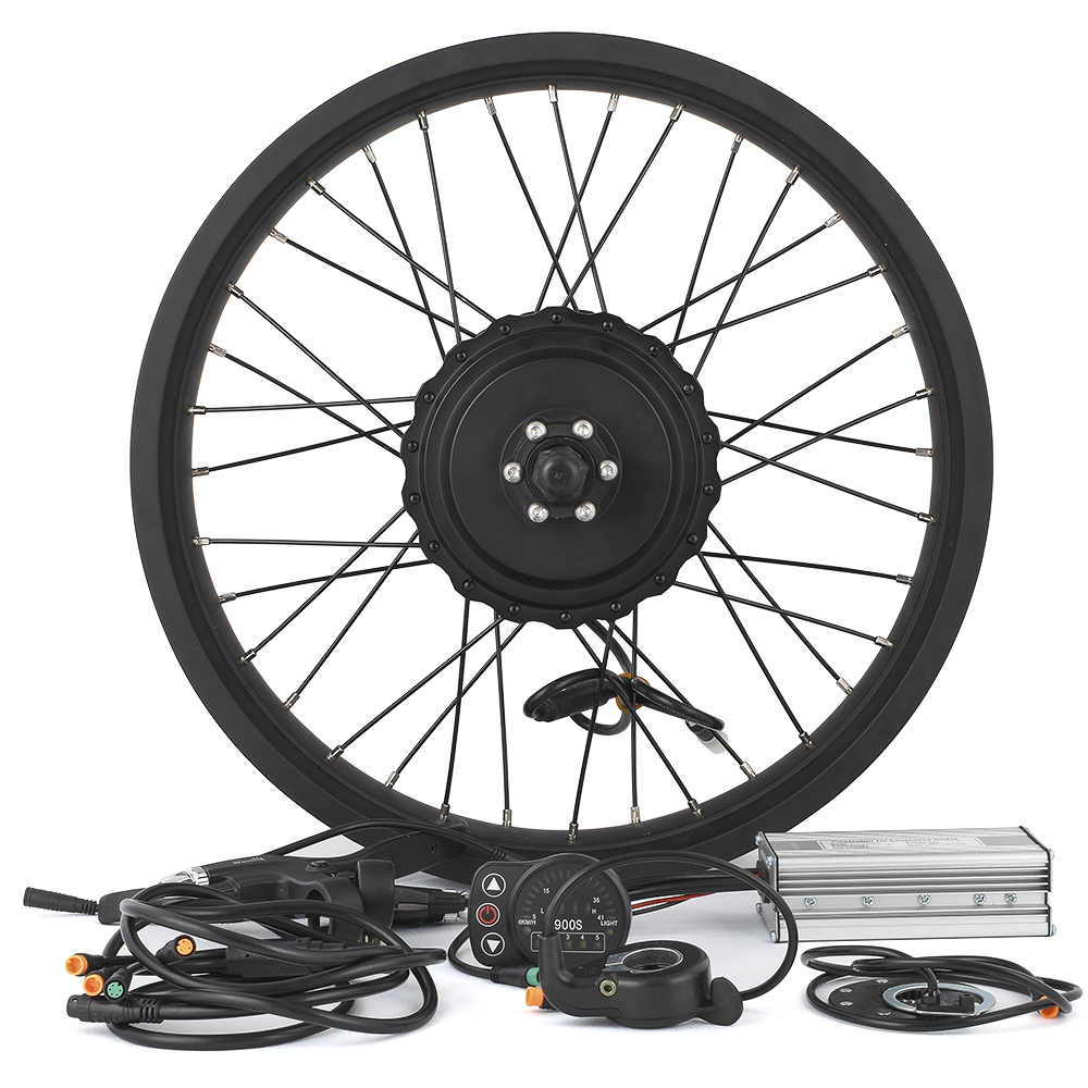 Fat bike Conversion kit 750W 48V Gear Brushless Hub Motor 26-28inch Cycling Electric bicycle rear wheel Snowmobile Motor Kits