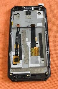 Image 2 - בשימוש המקורי LCD תצוגת מסך + מסך מגע + מסגרת עבור Nomu S30 מיני MTK6737T Quad Core משלוח חינם