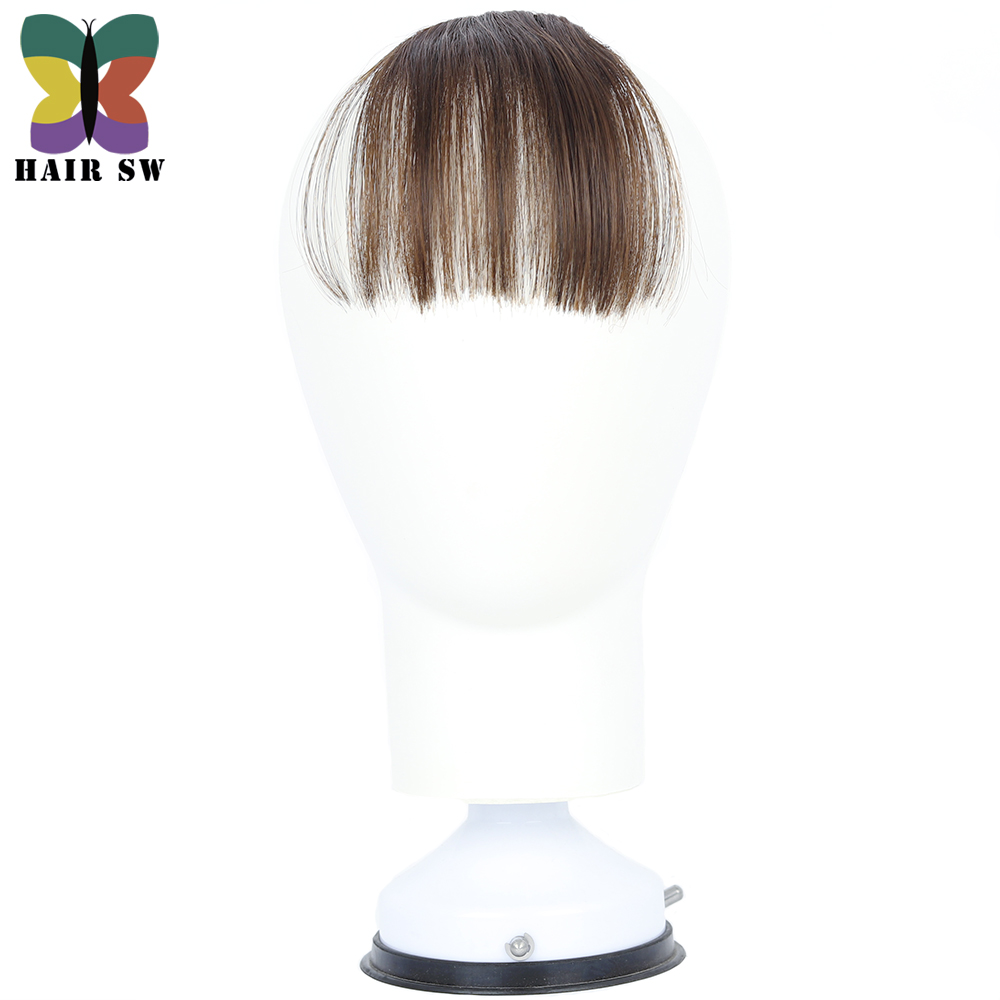 HAIR SW Fake Blunt Bangs Mini Clip-In Hair Extension Synthets