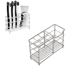 Bathroom Products Toothbrush Holder Toothpaste Razor Stand Stainless Steel Organizer storage Rack