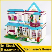 Lepin 01014 Compatible Lepin Friends The Stephanie S House 41314 Building Bricks Figure Educational Toys For