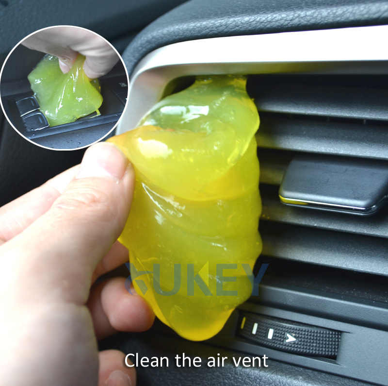 Magic Car Vent Air Outlet Cleaner Storage Box Glue Gel Panel Door Handle Dust Tool For Audi A4 Q5 BMW F10 VW Golf Kia Rio Toyota