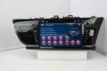 HD 2 din 9″ Car DVD GPS Navigation for Toyota Corolla (Right) 2014 2015 With Bluetooth IPOD TV SWC Radio/RDS AUX IN