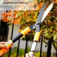 Jardin fleur arbre trimmer cisaille à haie coupe cisaillement élagage outil clôture coupeur de branches outil de coupe arbustes ciseaux type A