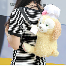 52CM Cartoon Backpack Kids Anime Duffy Bear Chef backpack Stellalou Rabbit new friends Cookie Cook plush toy for Christmas gift