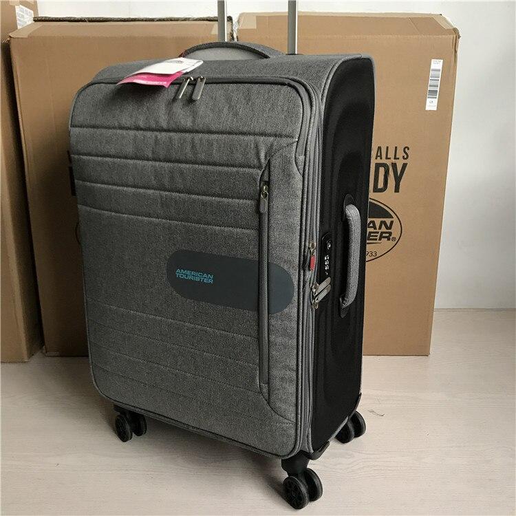 24 28 pulgadas exportación ee.uu. Universal impermeable ultraligero maleta spinner vintage viaje del equipaje para los hombres