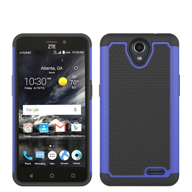 Dual Layer Armor Case Silicone TPU&PC Shockproof Hard Cover Case For ZTE Prestige 2 N9136/Maven 3 Z835/Prelude+ Z851/Overture 3