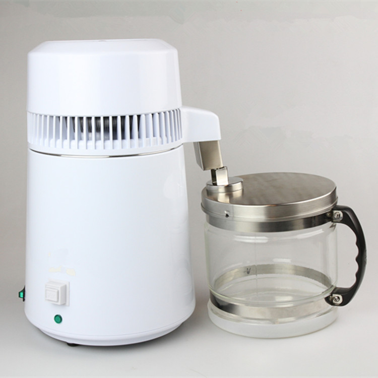 Portable Stainless Steel Water Distiller Pure Water Filter Water Purifier water distiller filter treatment lab & hospital HA149 image