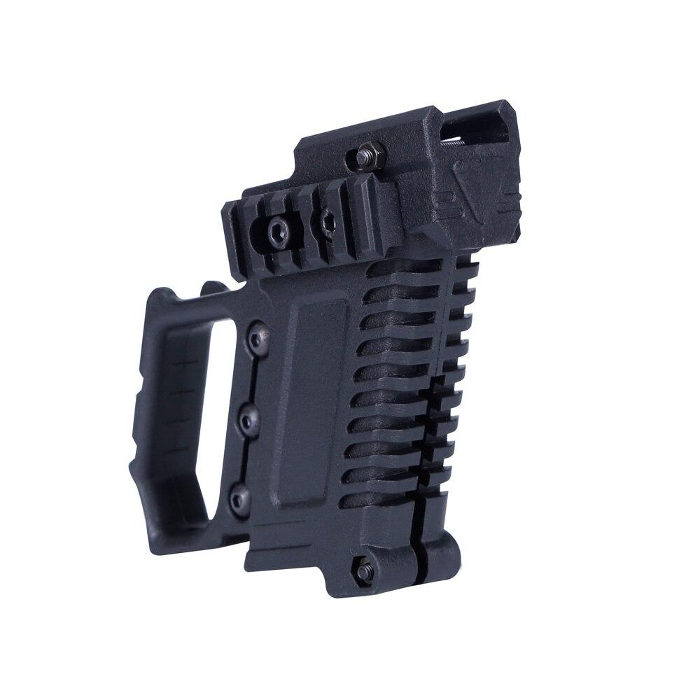 Pistola táctica Carbine Kit Glock Mount para CS G17 18 19 accesorios carga equipo