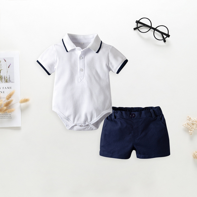 2019 Summer Baby Boys Clothes Set T Shirts Kids Cotton Childrens Clothing Brand Top Quality