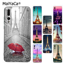 MaiYaCa France Paris the Eiffel Tower black silicone soft tpu case for Huawei P9 10 plus 20 pro mate9 10 lite honor 10 view10(China)
