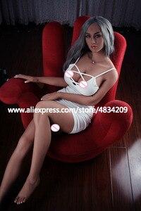 Image 5 - Knetch 165 cm muñeca sexual realista de calidad superior pechos grandes adultos muñecas amor realista Vagina Anal silicona Real muñeca de sexo