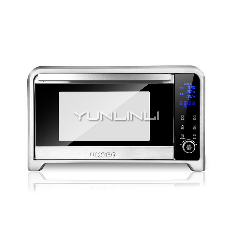 Multifunctional Electric Oven Full-automatic Household Baking Oven 75L Digital Control Baking Device E7002 все цены