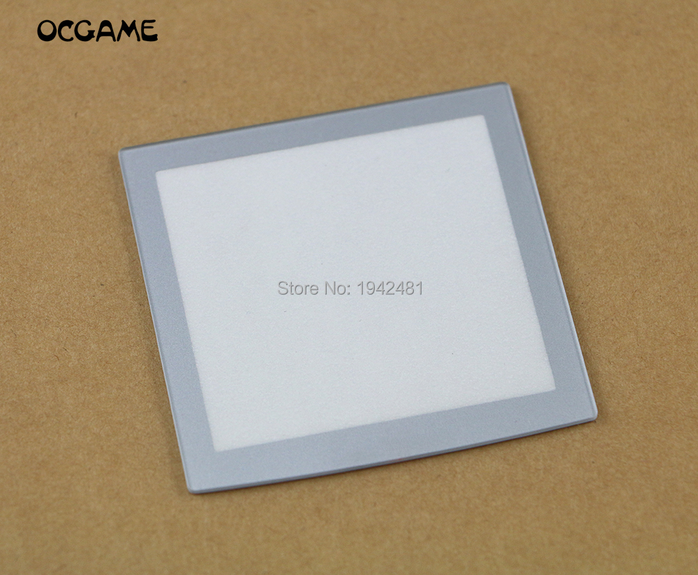 OCGAME Plastic For NeoGeo Pocket Silver LCD Protective Screen Lens For NGP Neo Geo Lens Protector 3pcs/lot(China)
