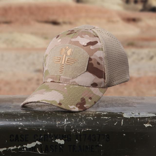 Multicam Arid  Tactical Baseball Cap  MCA 100% Mesh  65/35 ripstop material baseball hat Outdoor camo cap  MCBK MTP
