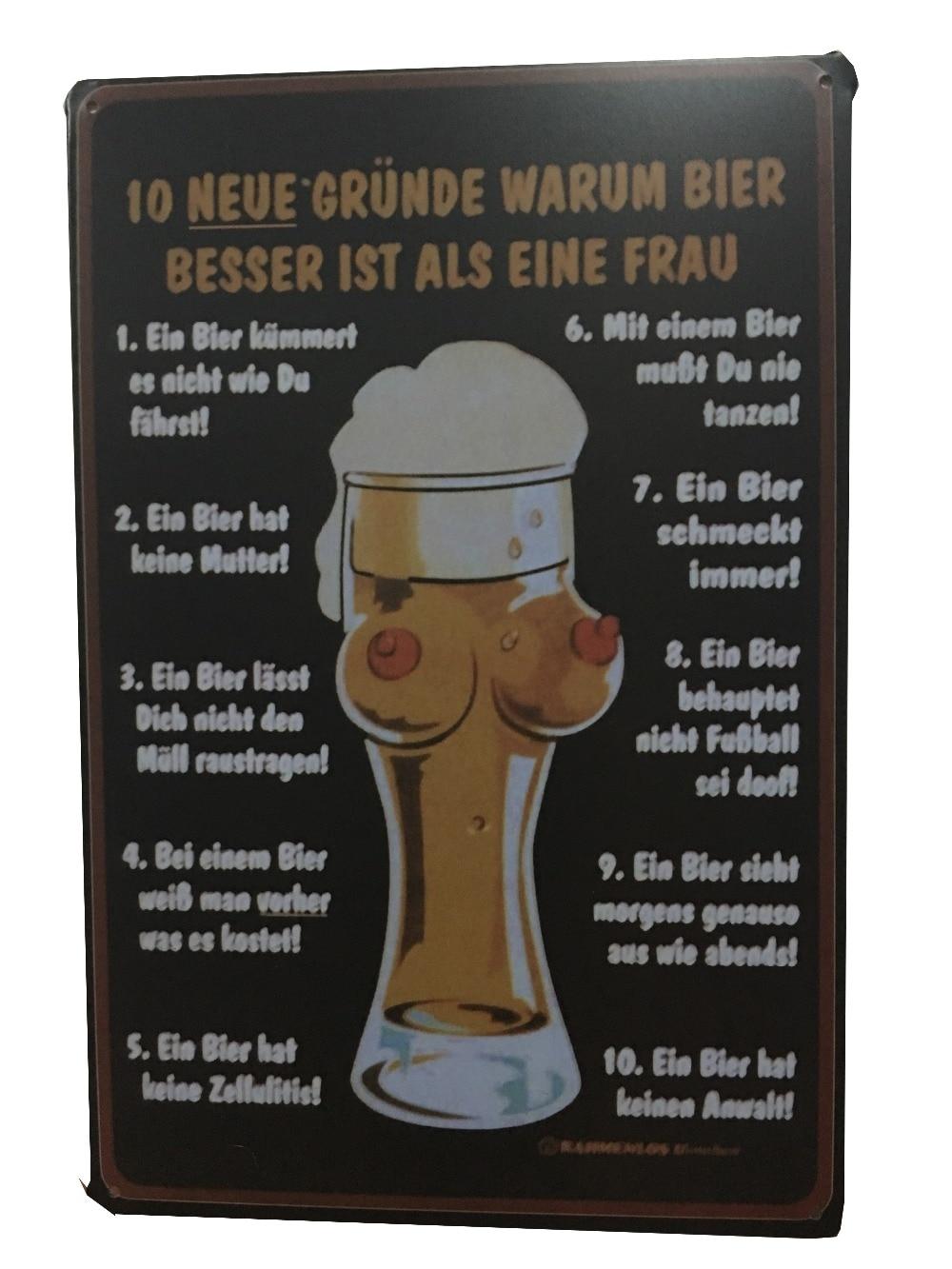 Half naked man beer poster