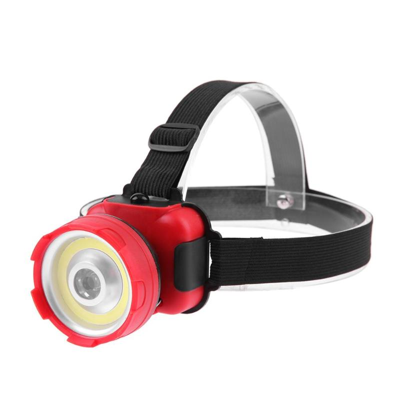New 5W Ultra Bright COB LED Head Light Multi-purpose Headlamp for Outdoor Camping Hiking Hunting Fishing Tackle Accessories