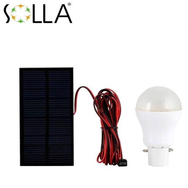 3 stkspartij solar led noodverlichting oplaadbare batterij verlichting lamp voor huis binnenverlichting 6 v