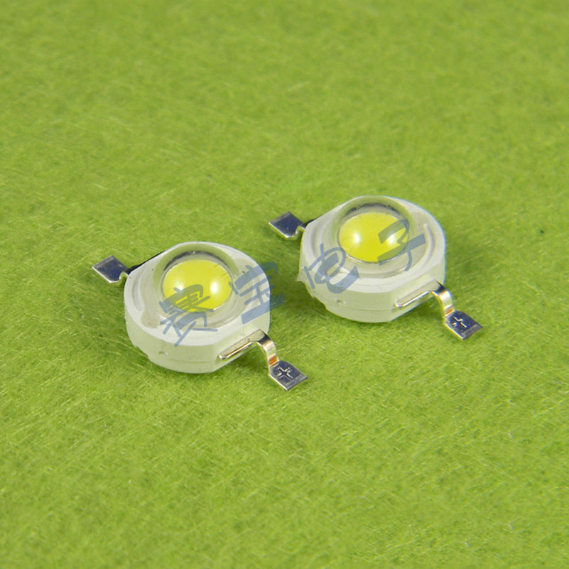 20pcs/lot Pure white 1w white light white High-power LED LED 80-90L(B3F1)