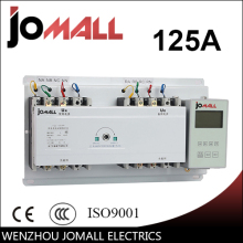 125A 3 phase automatic transfer switch ats with English controller