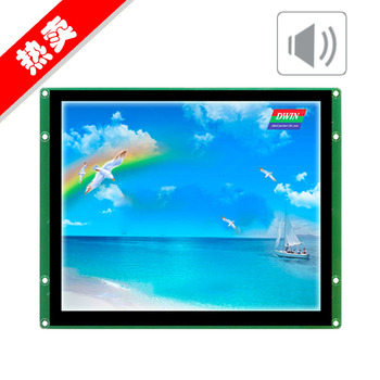DMT80600T080_07WT DWIN 8 inch DGUS serial port industrial capacitive touch screen voice configuration LCD