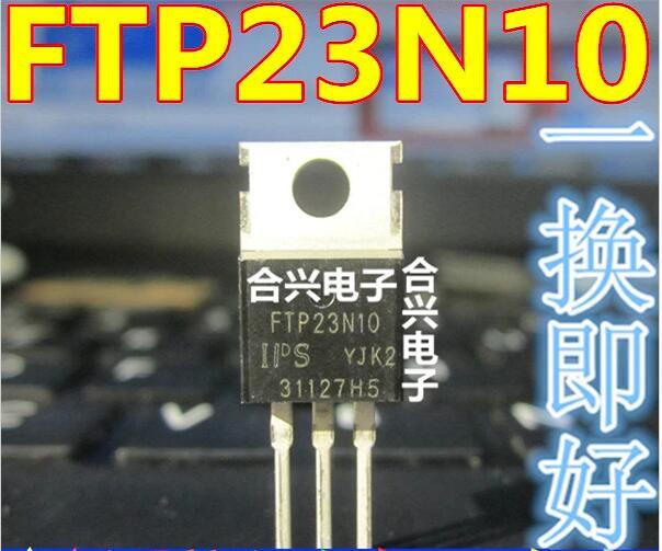 Sinnvoll 10 Teile/los Ftp23n10a Ftp23n10 23n10a Zu-220 Um Der Bequemlichkeit Des Volkes Zu Entsprechen Sicherung Komponenten