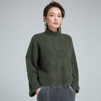 Як кашемир Свитер с воротником Модные свитеры и Пуловеры для женщин корейский пуловер 2017 Для женщин S осень зима осенняя одежда Для женщин Т