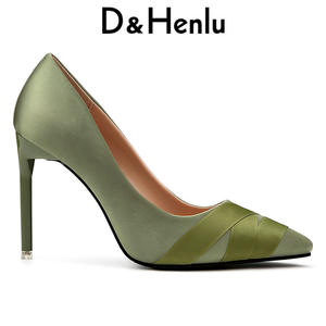34fa69696f44 D Henlu High Heels Thin Heel Ladies Sexy Shoes 2018