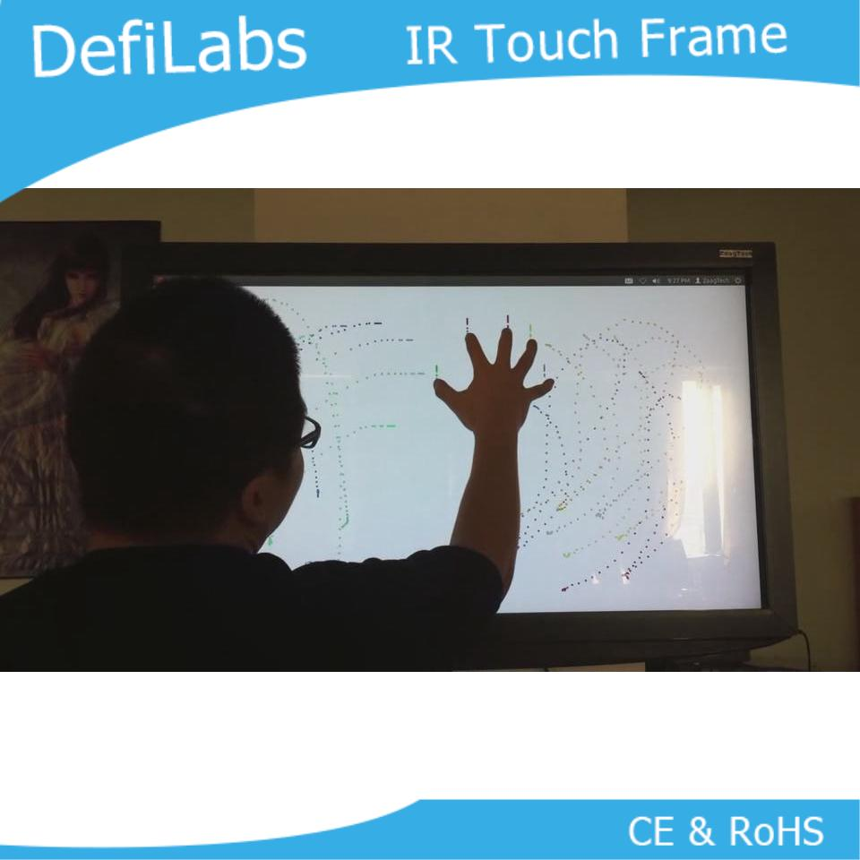 "DefiLabs Promot! 10 points 49"" Infrared Touch Screen Overlay frame, 16:9"