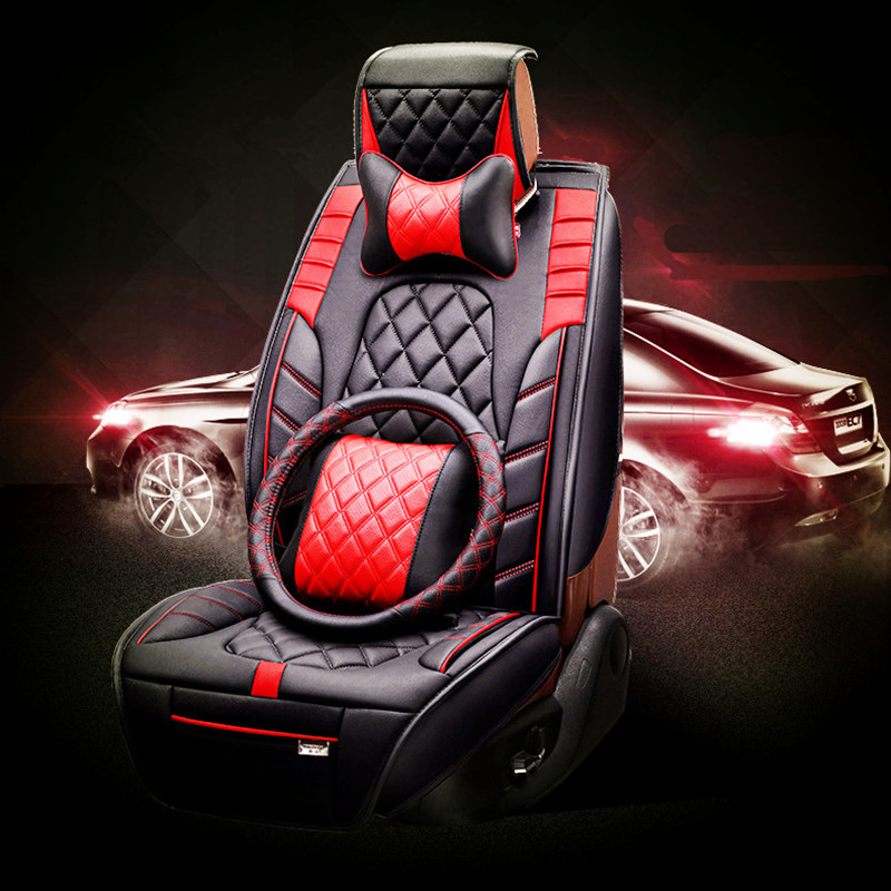 3D Styling Car Seat Cover For Ford Edge Escape Kuga Fusion Mondeo Ecosport Explorer Focus Fiesta,High-fiber Leather, 3d creative chrome steering wheel sticker for ford fiesta ecosport kuga escape focus mondeo new drop shipping