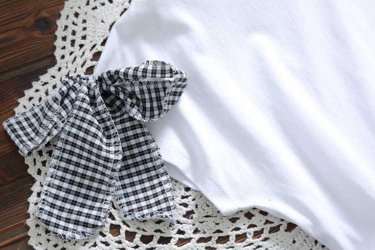 Mori милые девочки клетчатое платье новый летний Модный корейский стиль o-образным вырезом короткий рукав винтажное милое платье