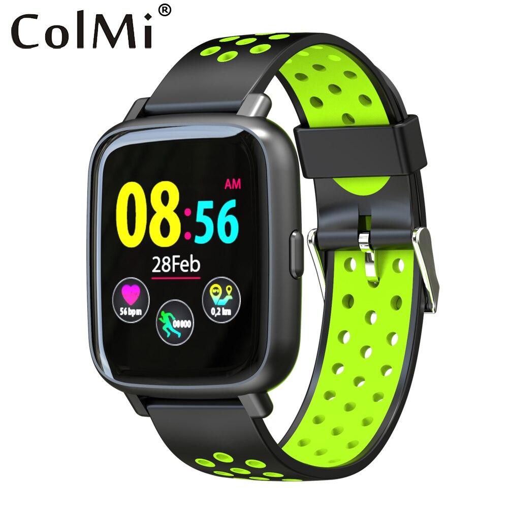 ColMi Montre Smart Watch SN12 Moniteur de Fréquence Cardiaque Montre IP68 Étanche De Natation Bracelet Bluetooth Sport Horloge pour Hommes Femmes Smartwatch