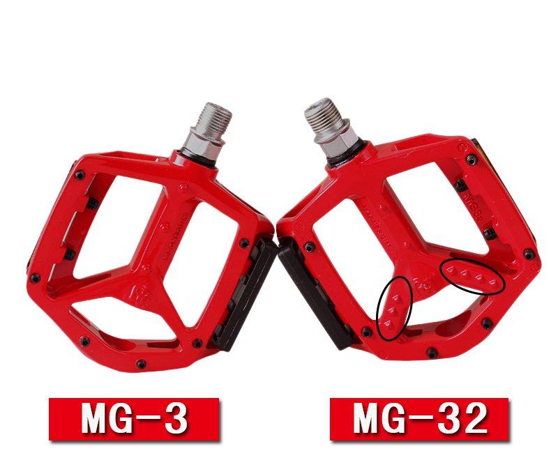 "Road Bike Pedals Platform Wellgo MG-3 9//16/"" Magnesium MTB Mountain Silver"