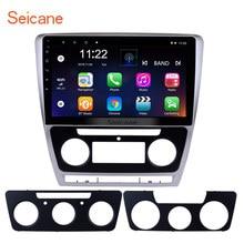 Seicane 7,1 «Android 8,1/2007 автомобильный мультимедийный плеер для 2014-10,1 VW Volkswagen SKODA Octavia Поддержка рулевого колеса управление