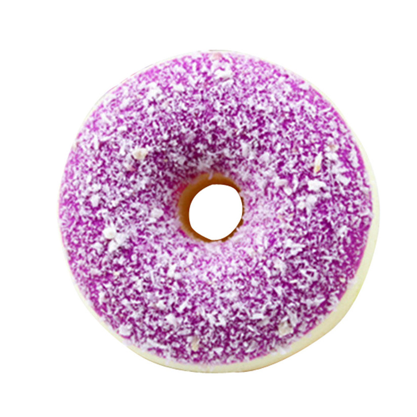 Funny Toy Resin Relax Adult Doll Relieve Stress Novelty Toy Antistress Funny Kawaii Soft Colourful Doughnut Scented #5