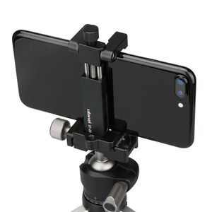 Image 2 - Ulanzi ST 03 Foldable Metal Mobile Phone Tripod Holder Mount Clamp for iPhone7 Samsung Xiaomi Smartphones