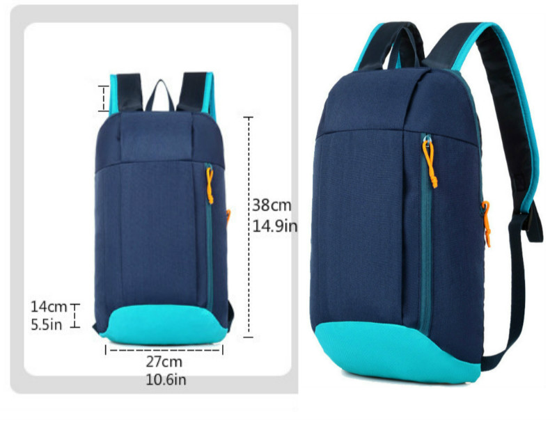 Waterproof S ports Backpack Out Door Luggage Shoulder Women Men School Bags Bagpack Mini Small Teenage Travel Rucksack 2