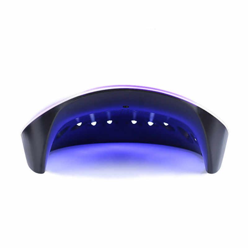Nuovo 36W LED UV Del Chiodo Del Gel Che Cura La Lampada Rosa Luce Del Chiodo Del Polacco Del Gel Dryer Unghie Artistiche Macchina lampara led manicura