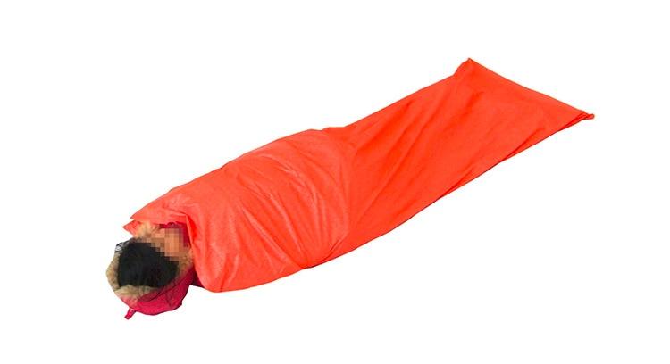 promo code 04a88 c1324 US $23.13 33% OFF|Super Ultraleicht 200*75 cm Mini verpackung Notfall  Schlafsack 15D nylon outdoor camping ortable schlafsack-in Schlafsäcke aus  Sport ...