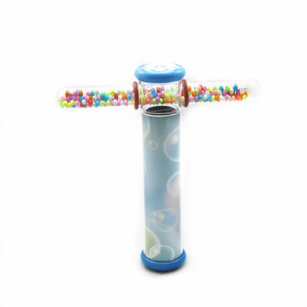 Купить с кэшбэком Fantastic Offer Hot Sale Cute Fashion Funny Colorful Kaleidoscope for Kids Gift Fluid Fantasy Glitter Wonder Wand Cross Shape