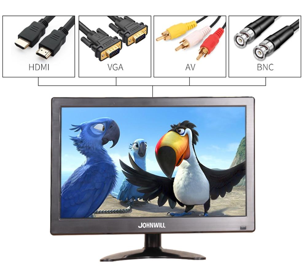 12 Zoll 1920x1080 Lcd Hd Monitor Computer Pc Display Farbe Bildschirm 2 Kanal Video In Sicherheit Monitor Mit Lautsprecher Hdmi Vga Usb Verkaufspreis