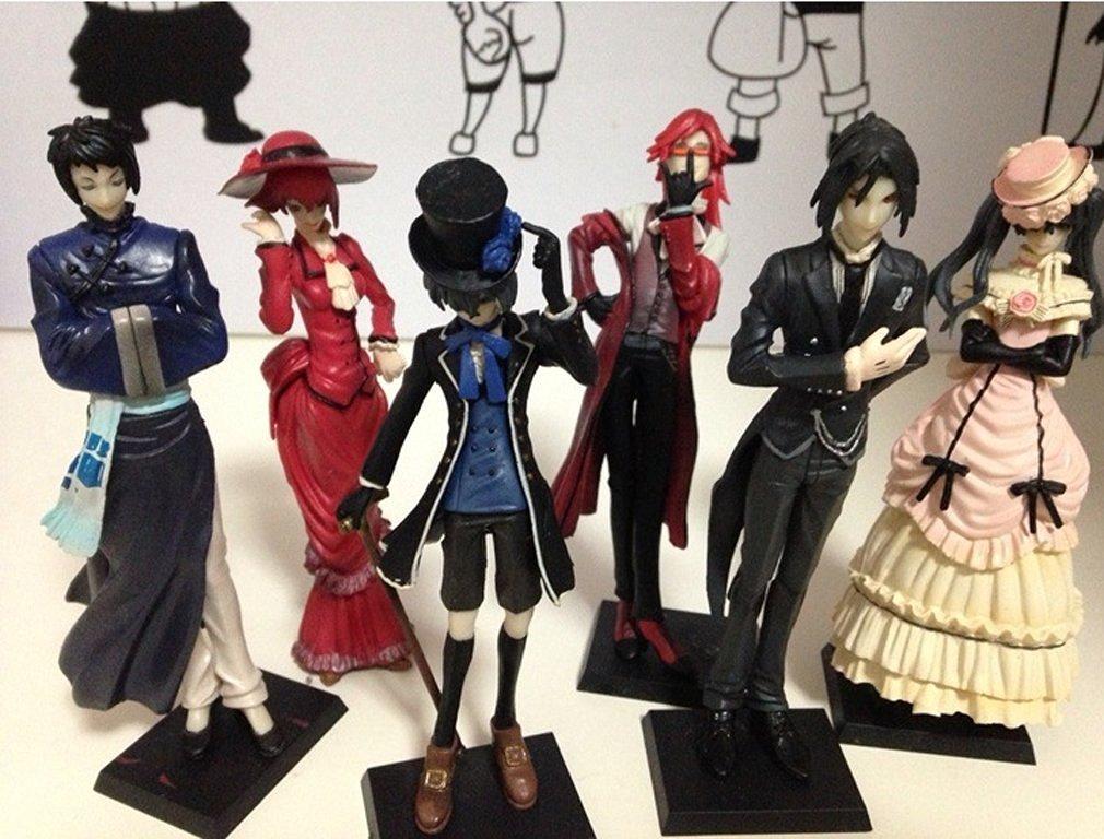 Anime Black Butler Princess Kuroshitsuji Action Figure Model Toys Children Birthday Gift Home Decoration Craft