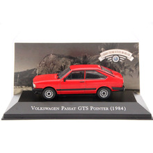 IXO Altaya 1:43 Scale V~W Passat GTS Pointer 1984 Toys Car Diecast Models Limited Edition Collection Red