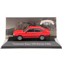 IXO Altaya 1:43 Scale V~W Passat GTS Pointer 1984 Toys Car Diecast Models Limited Edition Collection Red(China)