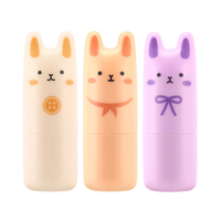 Original Pocket Bunny Perfume Bar 9g 3 Fragrance Women Perfume Deodorant Non Alcoholic Fragrance Cream 1pcs