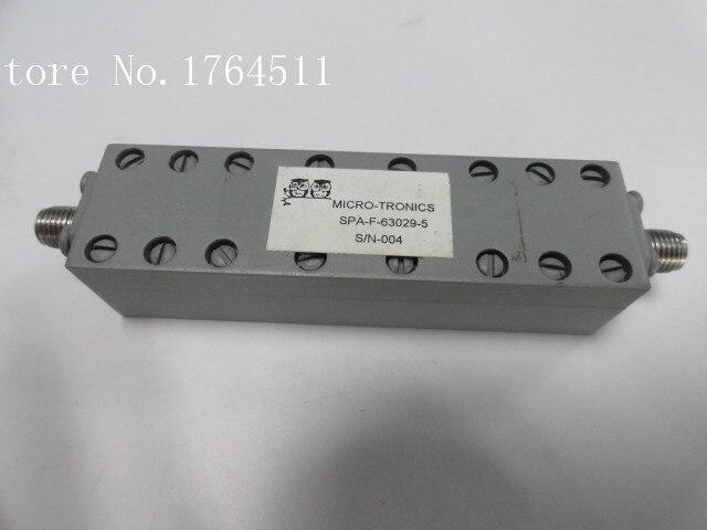 [BELLA] MICRO-TRONICS SPA-F-63029-5 4-6GHZ RF Bandpass Filter SMA (F-F)
