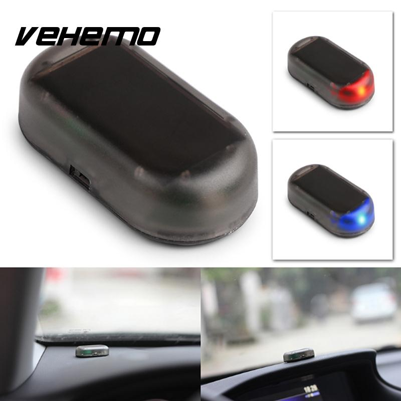 vehemo car auto dummy fake warning anti theft flash flashing blinking alarm led light in signal. Black Bedroom Furniture Sets. Home Design Ideas